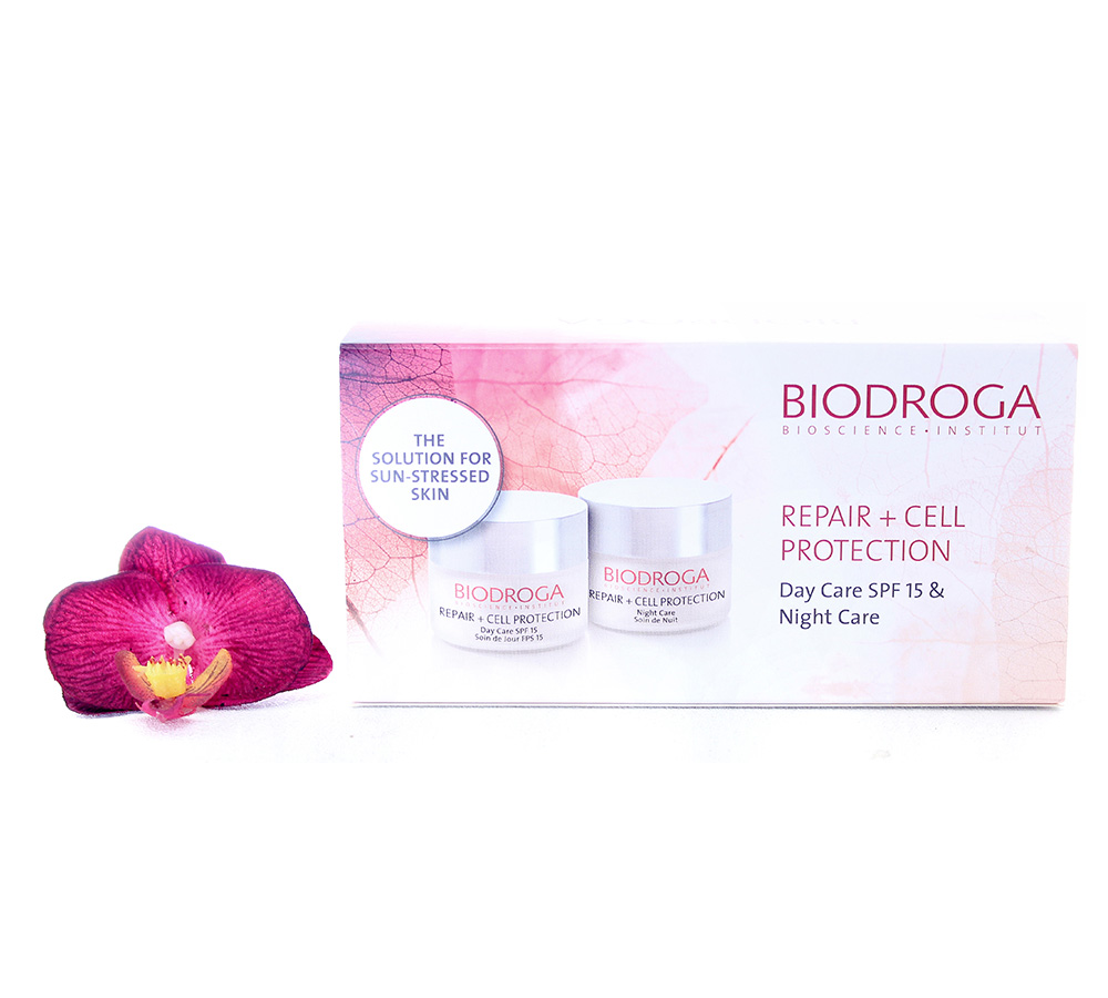 45778 Biodroga Repair + Cell Protection Day & Night Care Set