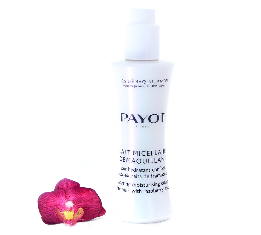 65117331 Payot Lait Micellaire Demaquillant - Comforting Moisturising Cleansing Micellar Milk 200ml
