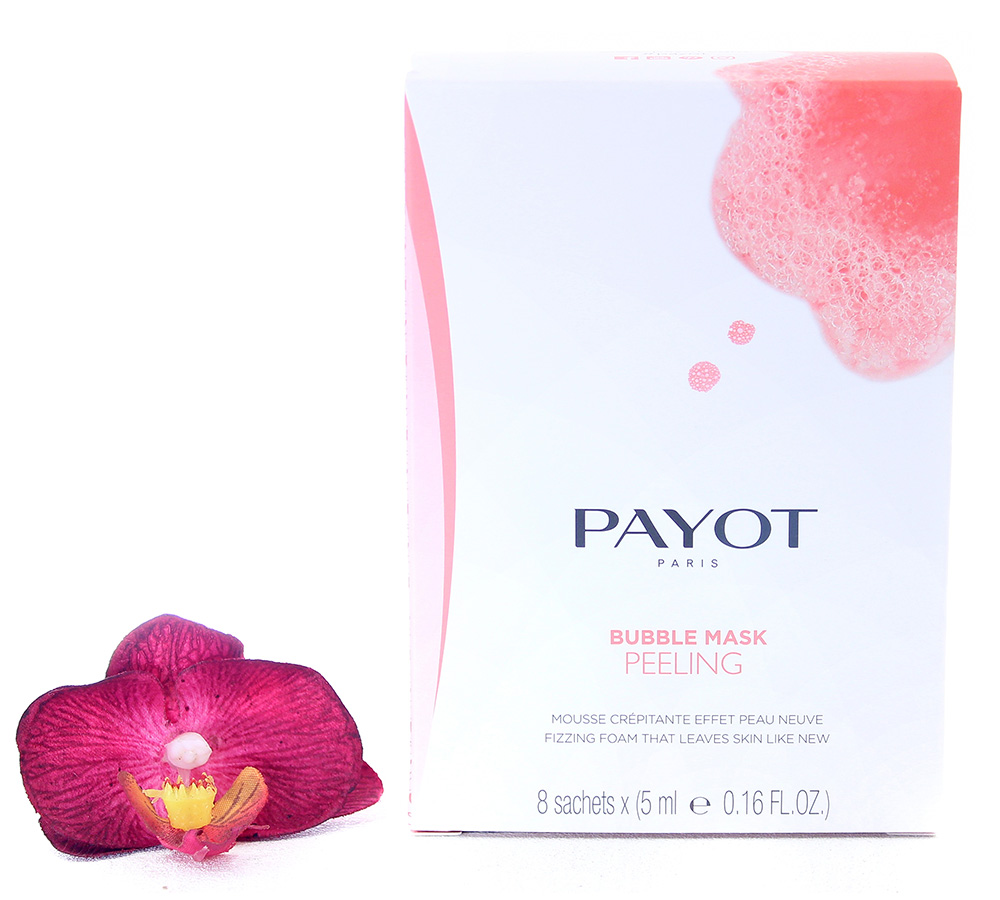65117647 Payot Bubble Mask Peeling - Fizzing Foam 8x5ml