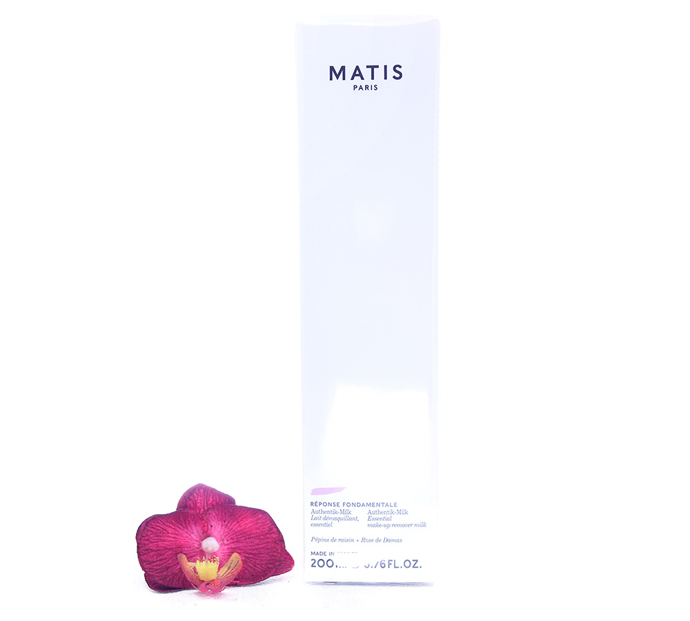 A0410021 Matis Reponse Fondamentale - Auithentik-Milk Make-Up Remover Milk 200ml