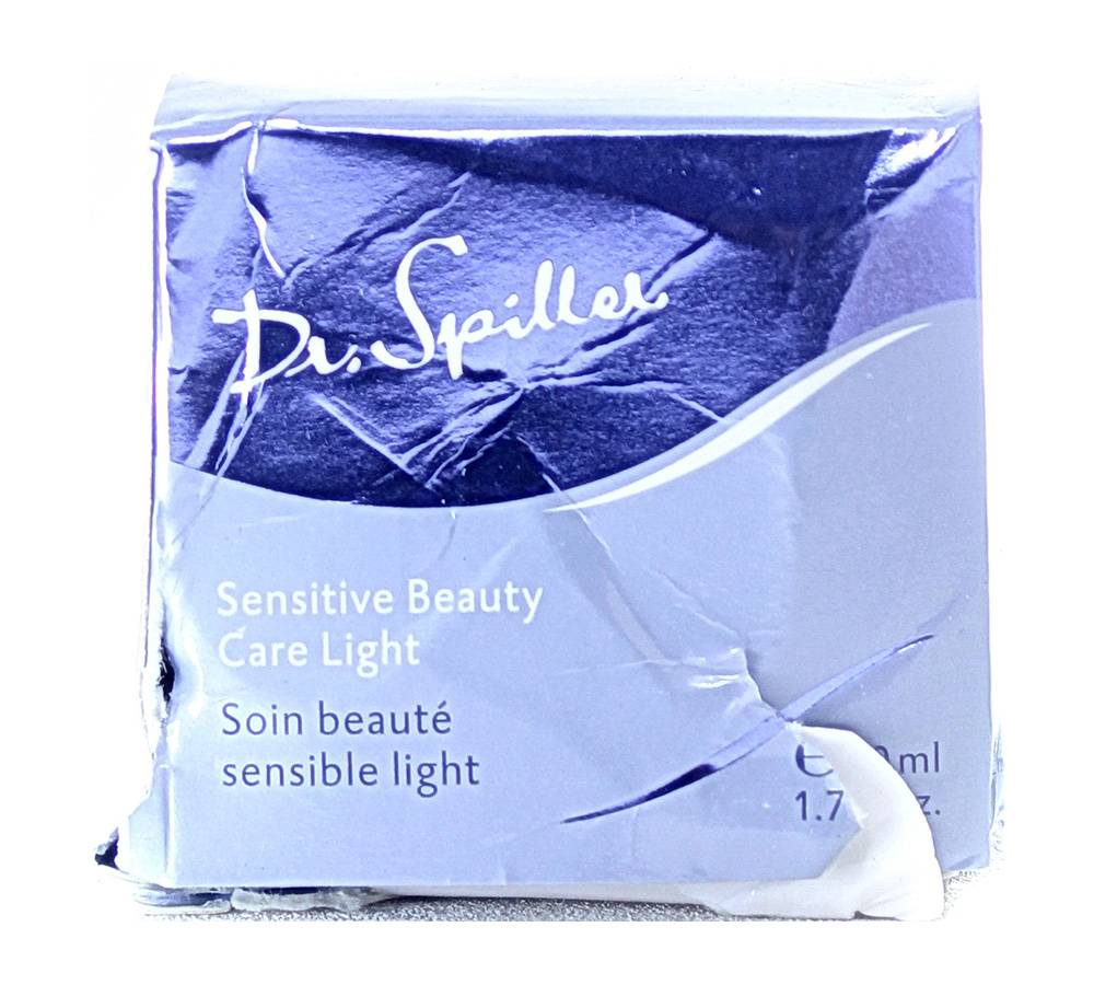 106407_damaged_package Dr. Spiller Biomimetic Skin Care Sensitive Beauty Care Light 50ml Damaged Package