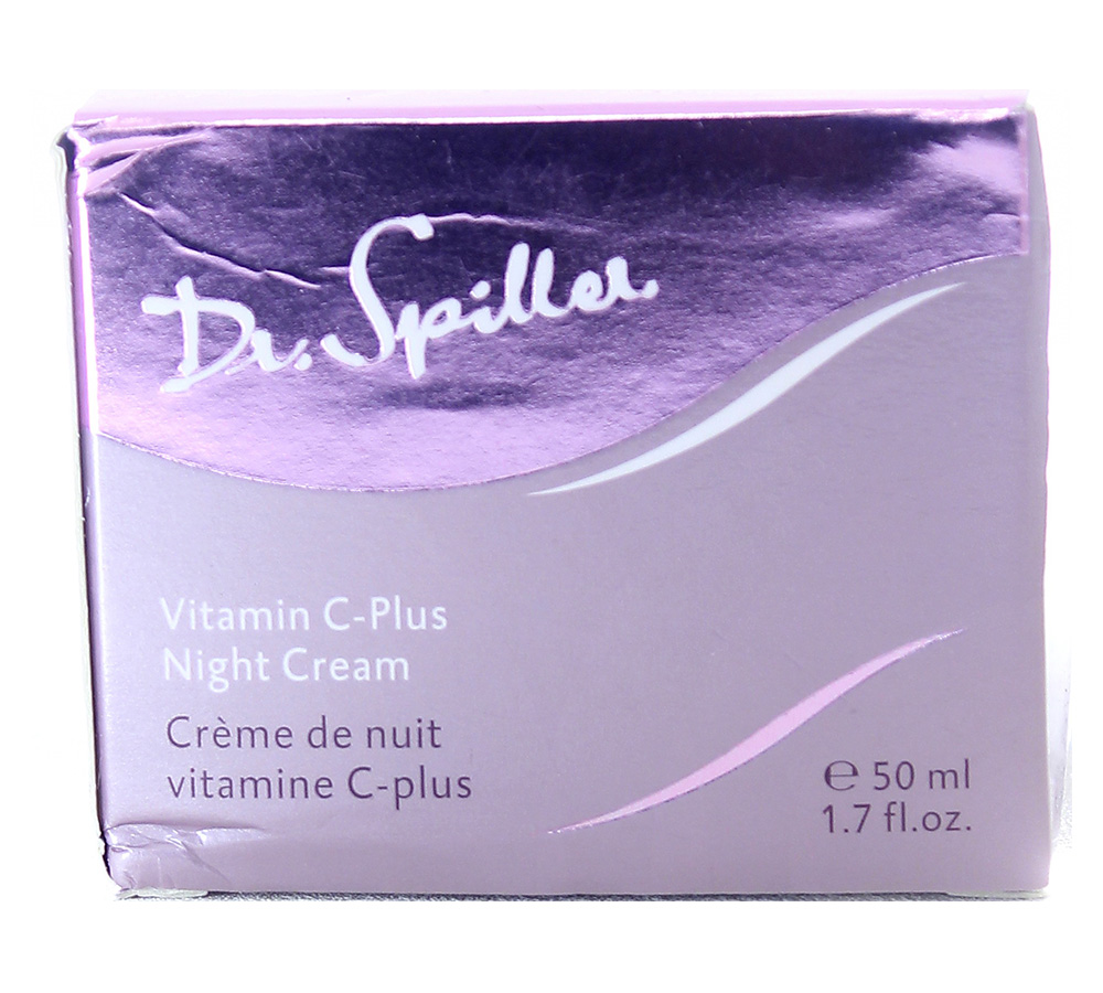 112107_damaged_package Dr. Spiller Biomimetic Skin Care Vitamin C-Plus Night Cream 50ml Damaged Package