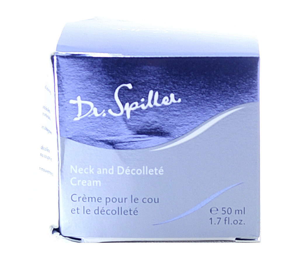 113007_damaged_package Dr. Spiller Biomimetic Skin Care Neck and Decollete Cream 50ml Damaged Package