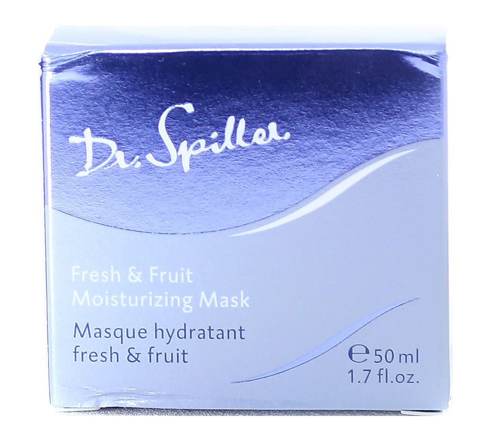 116807_damaged_package Dr. Spiller Biomimetic Skin Care Fresh & Fruit Moisturizing Mask 50ml Damaged Package