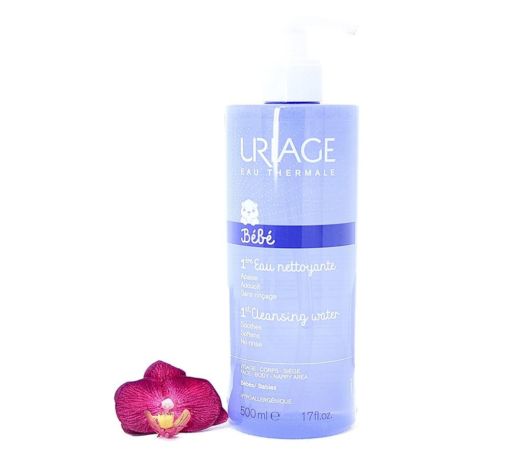 3661434000416 Uriage Bébé - 1st Cleansing Water 500ml
