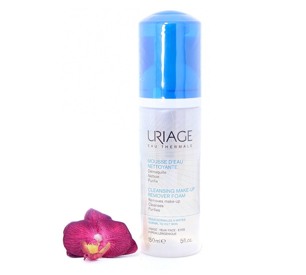 3661434003028 Uriage Cleansing Make-Up Remover - Cleansing Micellar Foam 150ml