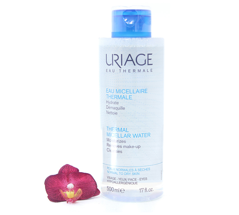 3661434003615 Uriage Thermal Micellar Water - Normal To Dry Skin 500ml