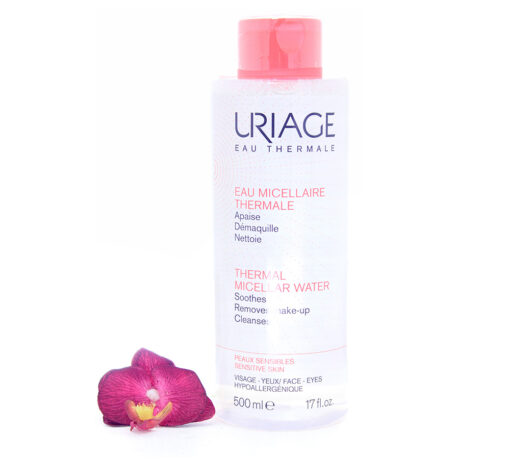 3661434003646-510x459 Uriage Thermal Micellar Water - Cleansing For Sensitive Skin 500ml
