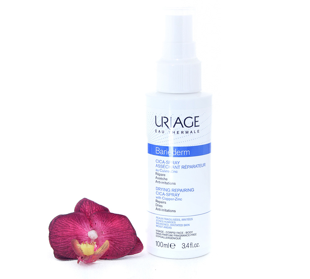 3661434005367 Uriage Bariéderm - Cica-Spray Drying Repairing Spray With Cu-Zn 100ml