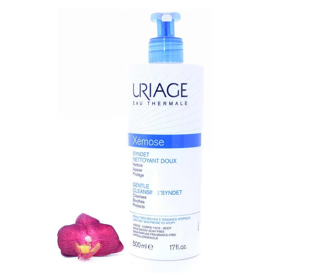 3661434005916 Uriage Xémose - Gentle Cleansing Syndet 500ml