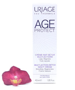 3661434006449-247x296 Uriage Age Protect - Multi-Action Detox Night Cream 40ml