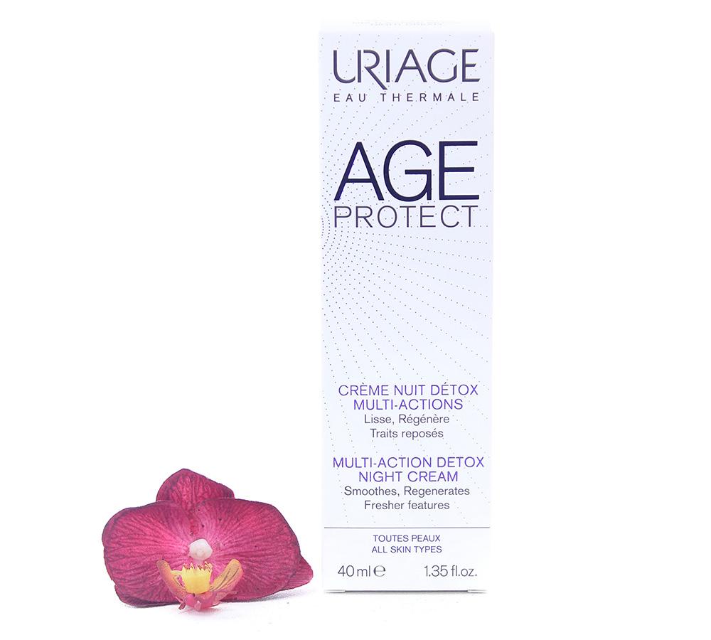 3661434006449 Uriage Age Protect - Multi-Action Detox Night Cream 40ml