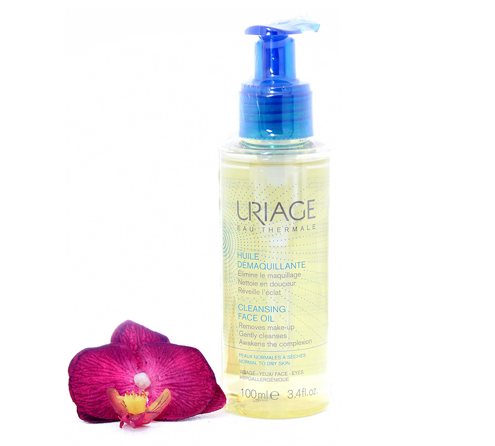 3661434007262 Uriage Cleansing Face Oil - Make-Up Remover Oil 100ml