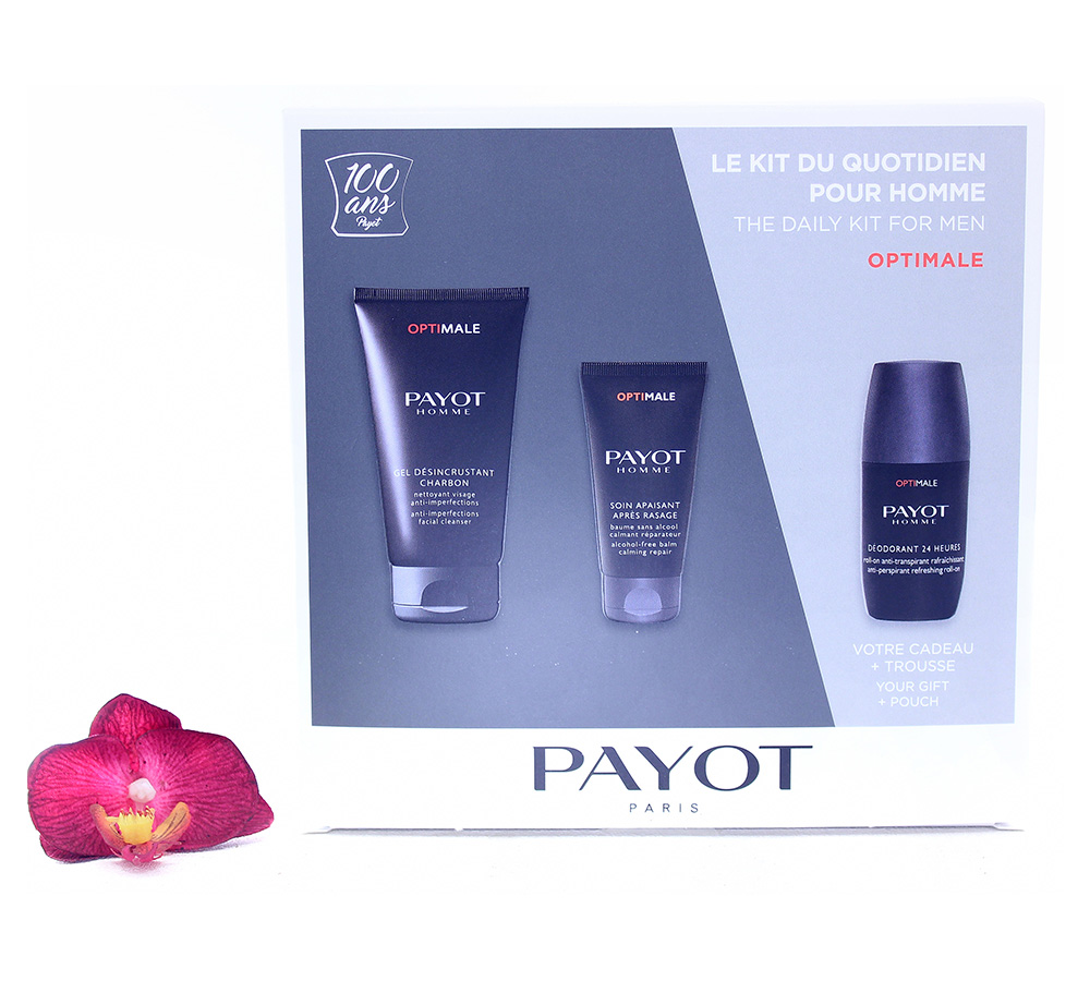65117317 Payot Optimale - The Daily Kit For Men 24h Set