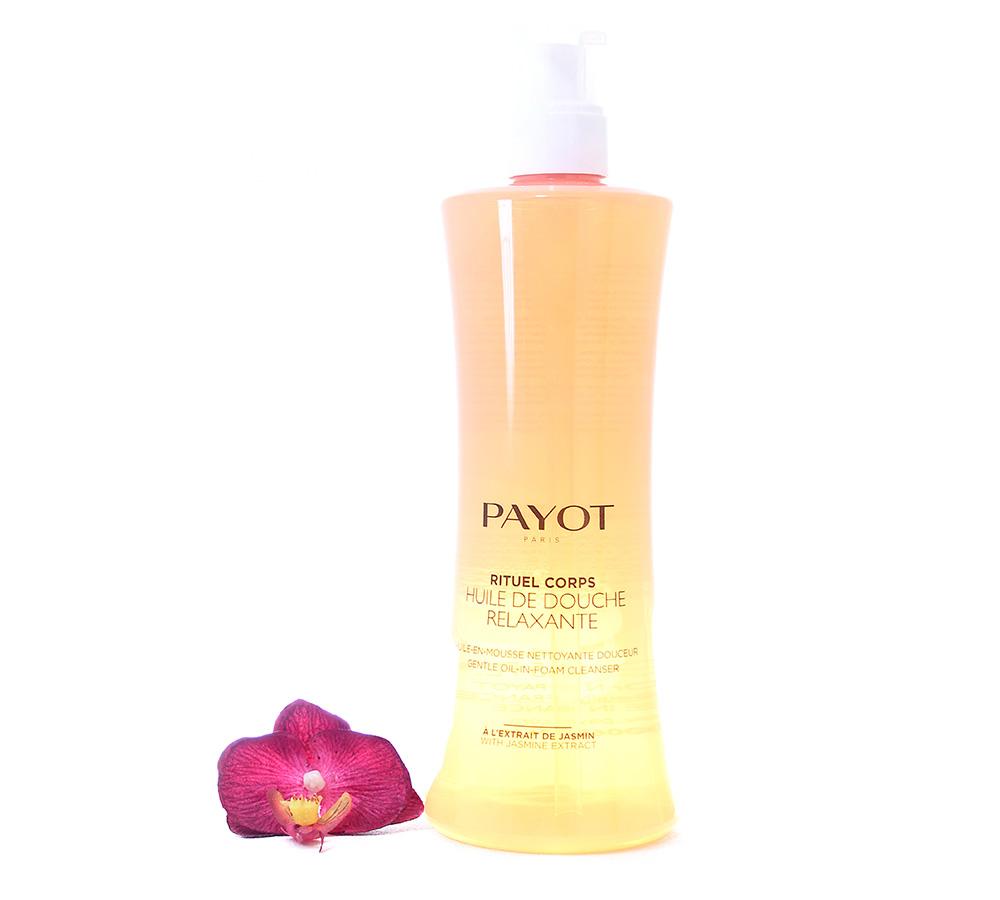 65117616 Payot Rituel Corps Huile De Douche Relaxante - Gentle Oil In Foam Cleaner 400ml