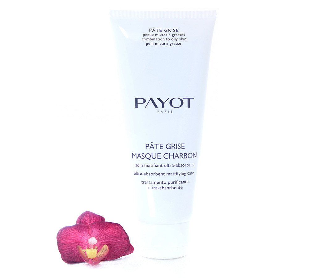 65117655 Payot Pate Grise Masque Charbon - Ultra-Absorbent Mattifying Care 200ml