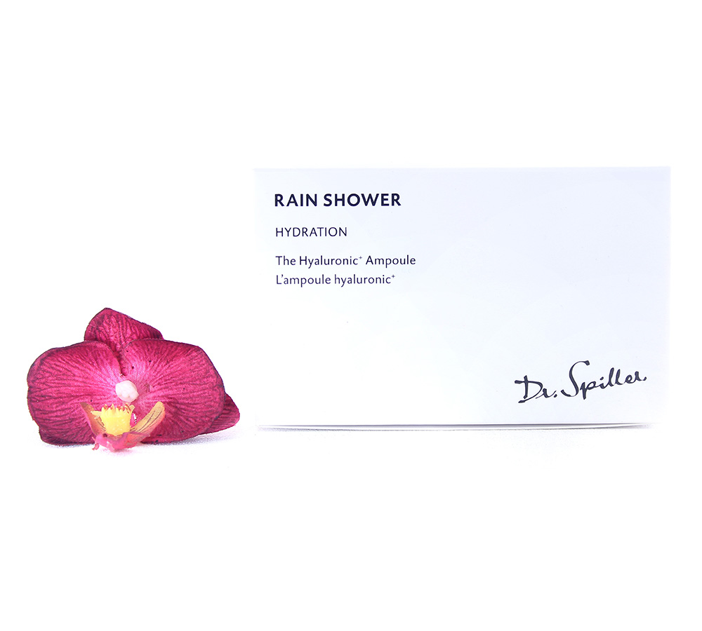 220025 Dr. Spiller Hydration - Rain Shower The Hyaluronic+ Ampoule 24x2ml