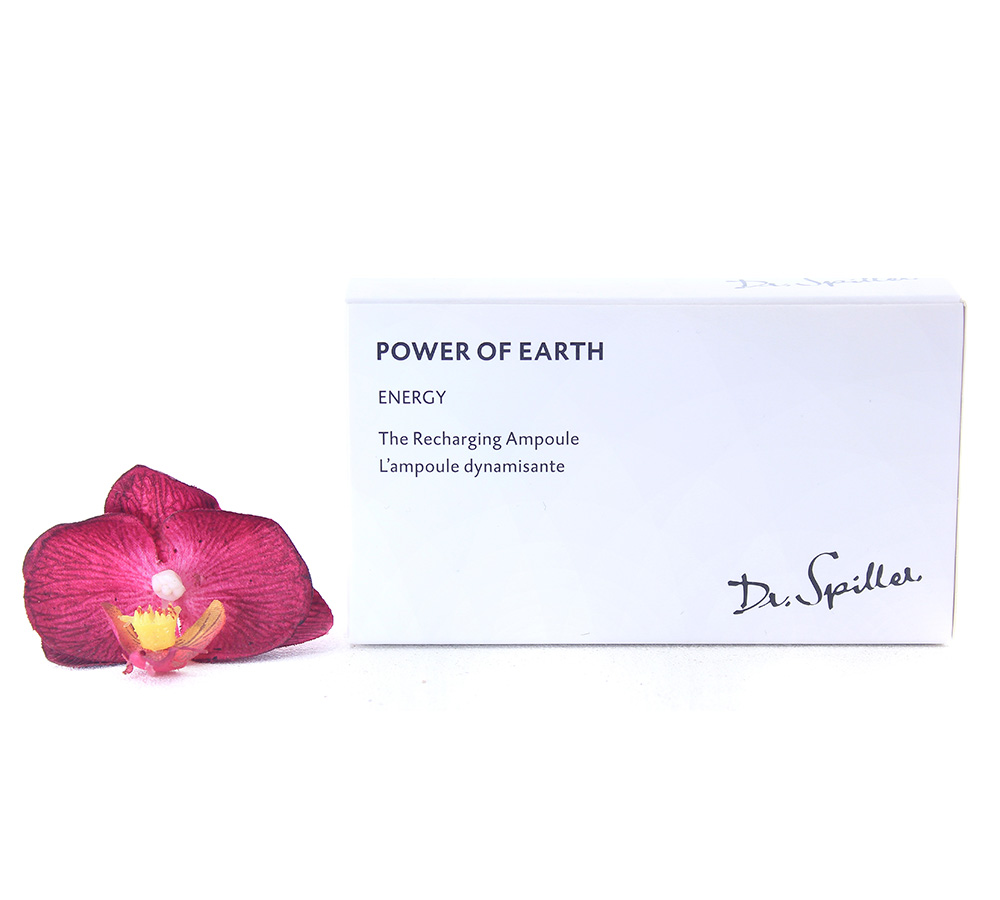 220029 Dr. Spiller Energy - Power of Earth The Recharging Ampoule 24x2ml