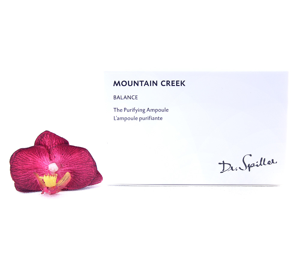 220036 Dr. Spiller Balance - Mountain Creek The Purifying Ampoule 24x2ml