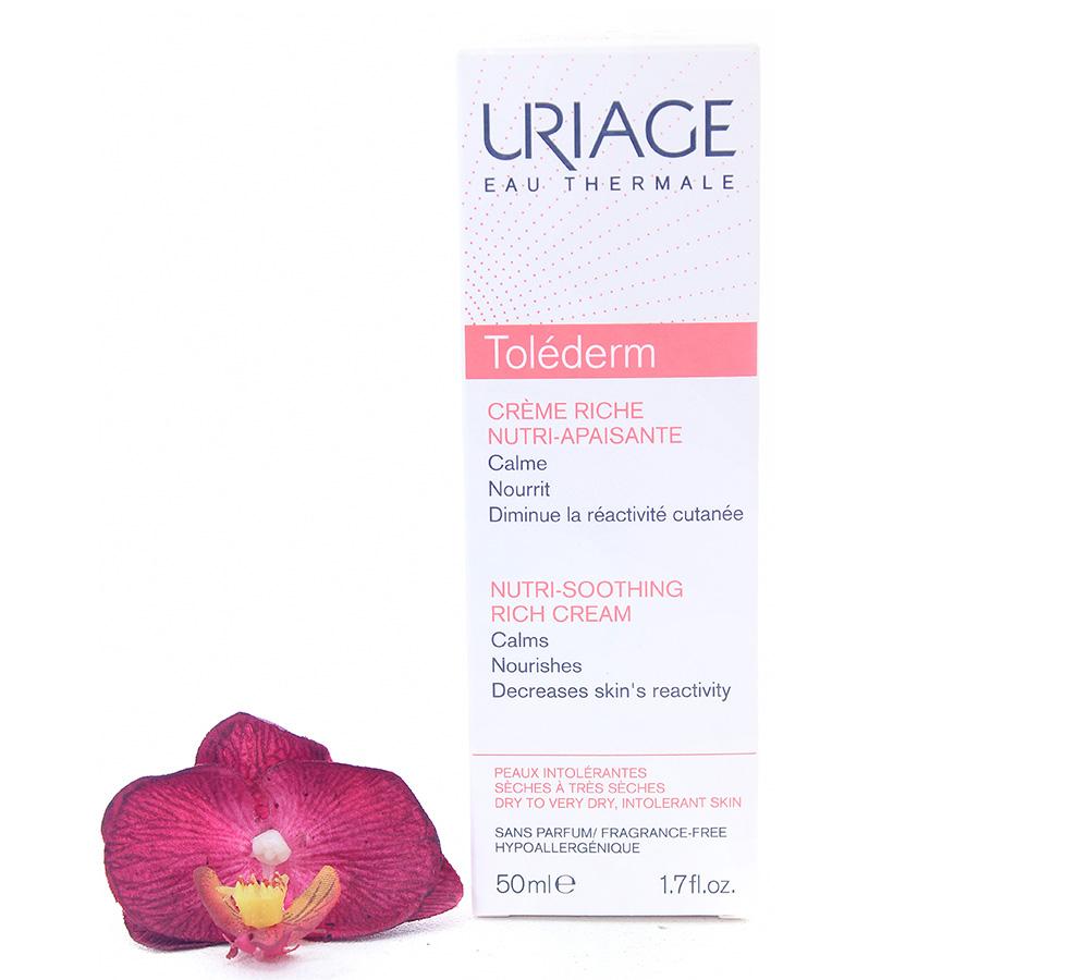 3661434000065 Uriage Toléderm - Nutri-Soothing Rich Cream 50ml