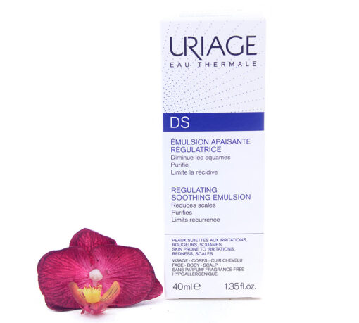 3661434000072-510x459 Uriage DS - Regulating Soothing Emulsion 40ml