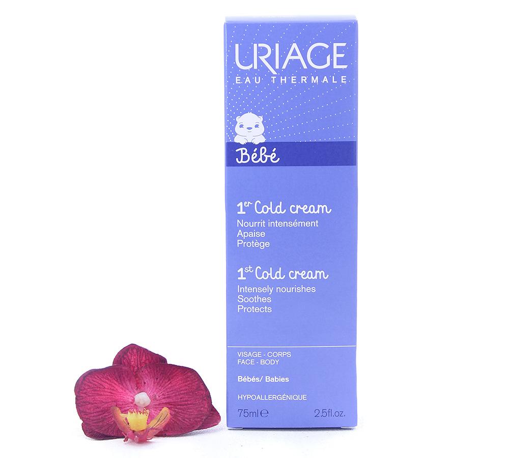 3661434000577 Uriage Bébé - 1st Cold Cream - Ultra-Nourishing Cream 75ml