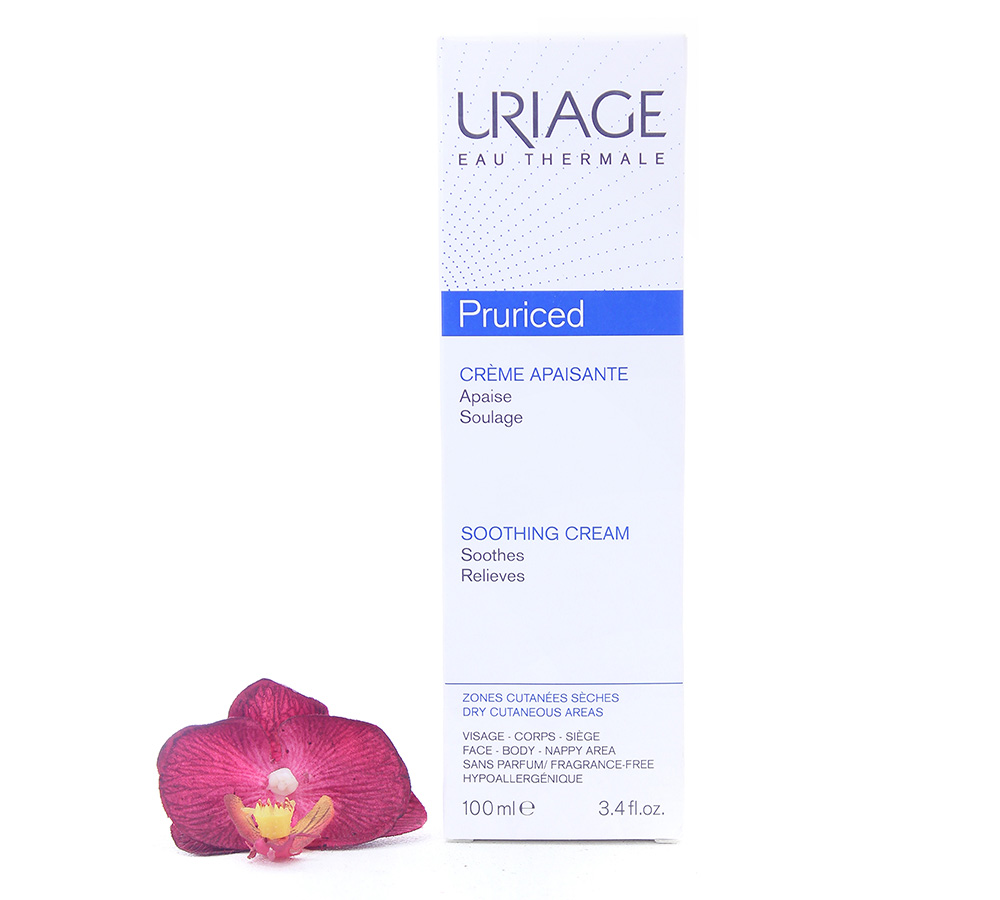 3661434000799 Uriage Pruriced - Soothing Cream 100ml