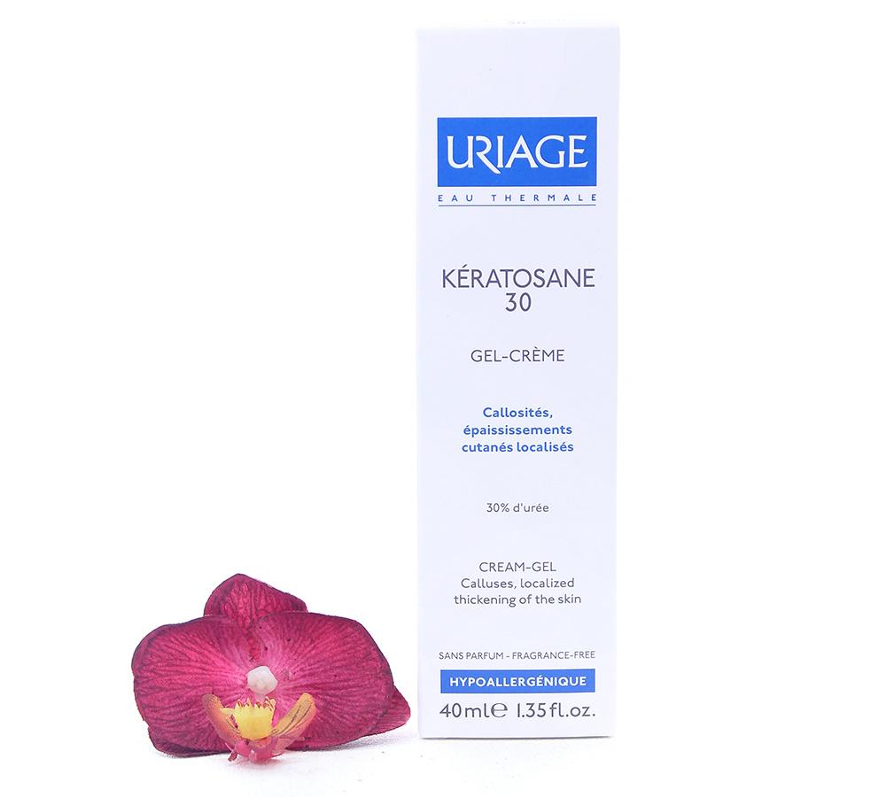 3661434000829 Uriage Kératosane 30 - Cream Gel For Callused Skin 40ml