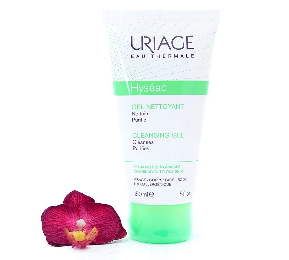 3661434000973-2 Uriage Hyséac - Cleansing Gel 150ml