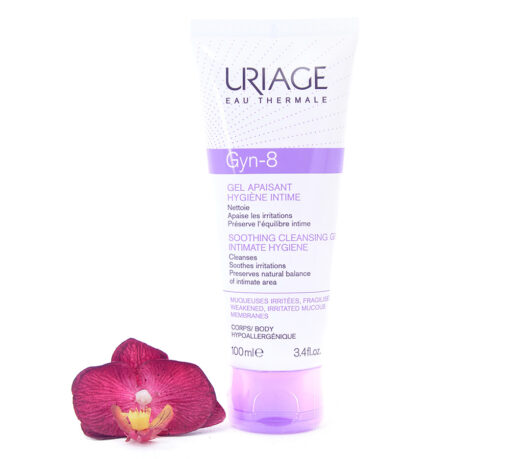 3661434001062-510x459 Uriage Gyn-8 Intimate Hygiene - Soothing Cleansing Gel 100ml