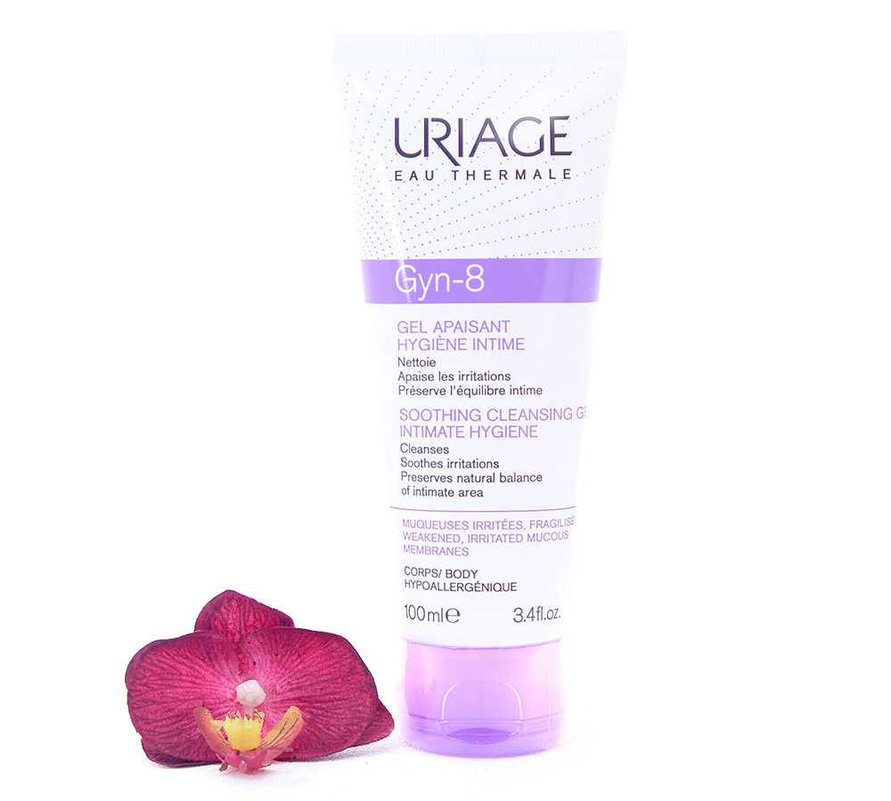3661434001062 Uriage Gyn-8 Intimate Hygiene - Soothing Cleansing Gel 100ml