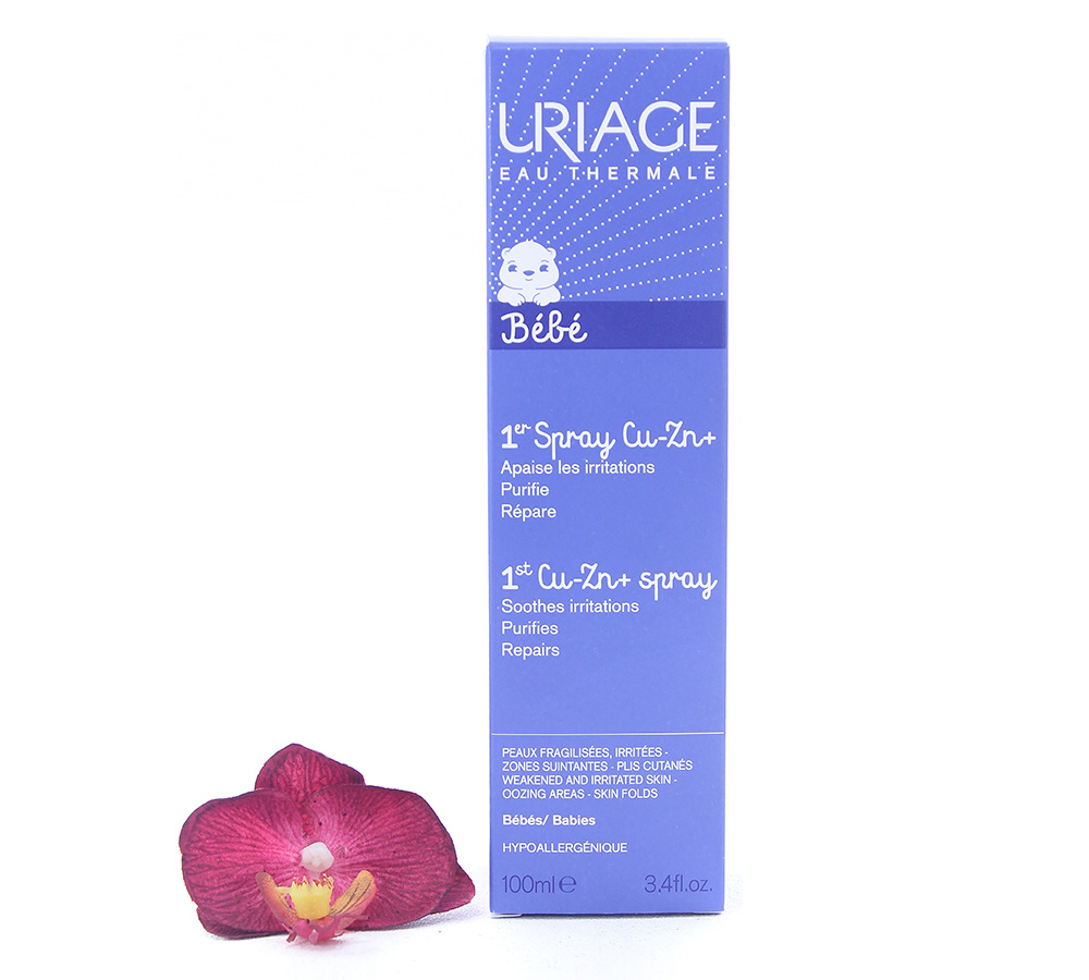 3661434001116 Uriage Bébé - 1st Cu-Zn+ Anti-Irritation Spray 100ml