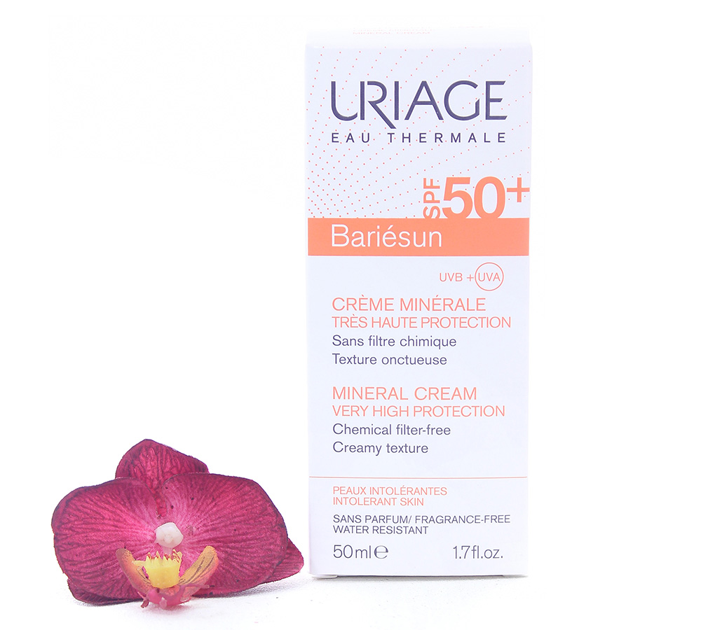 3661434001710 Uriage Bariésun Mineral Cream SPF50+ 50ml