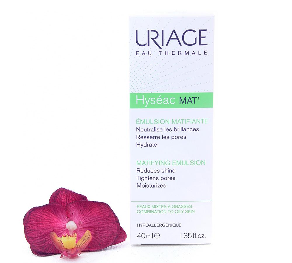 3661434001734 Uriage Hyséac Mat - Mattifying Emulsion 40ml