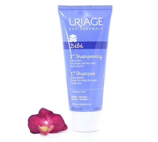 3661434002076-510x459 Uriage Bébé 1st Shampoo - Extra-Gentle Soap-Free Shampoo 200ml