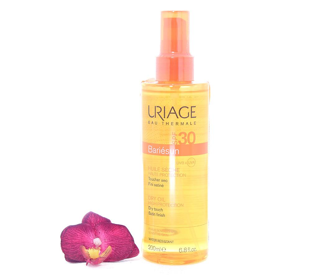 3661434002557 Uriage Bariésun Dry Oil SPF30 - High Protection 200ml