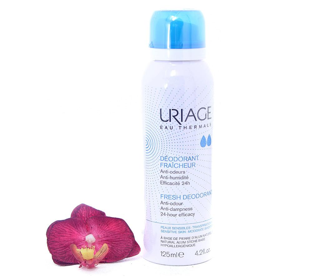 3661434003110 Uriage Déodorant Fraîcheur - Fresh Deodorant 125ml