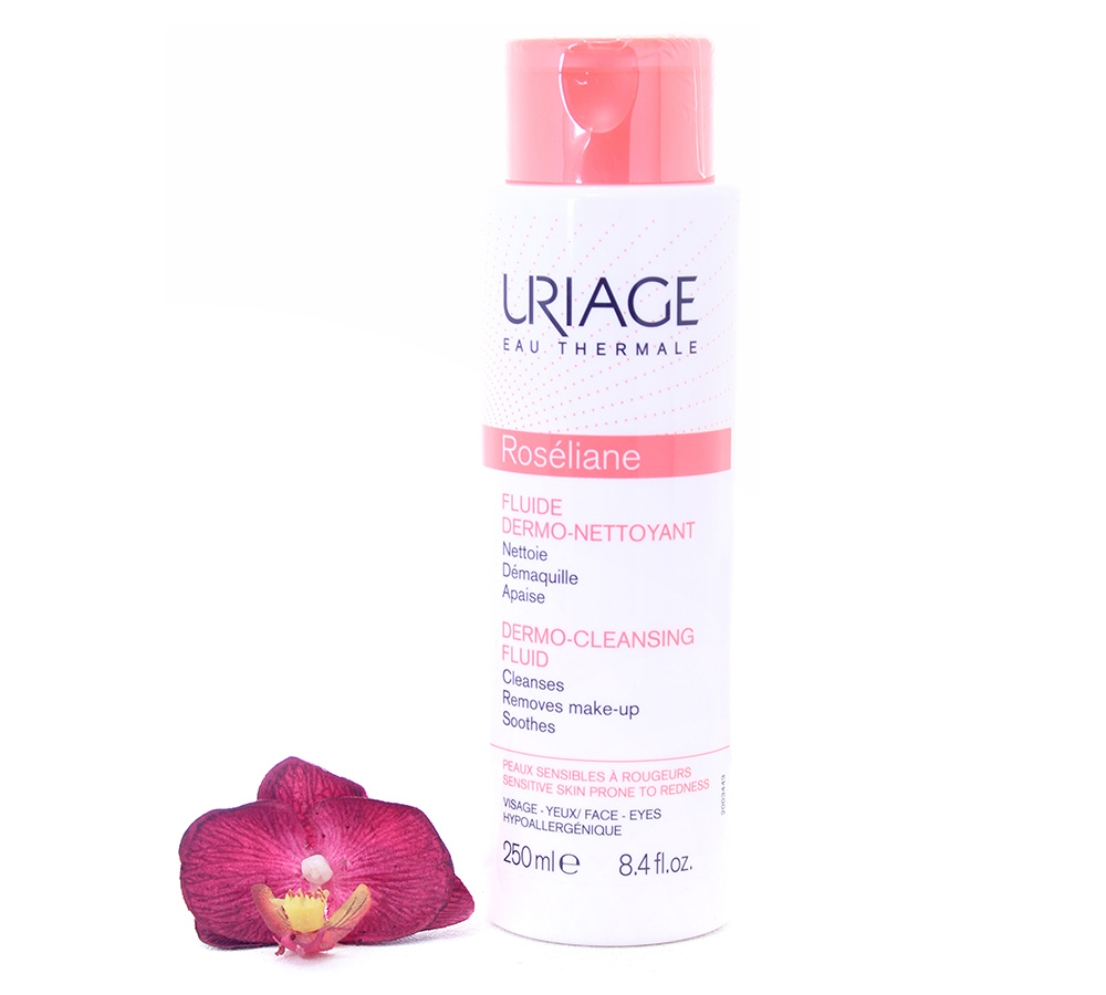 3661434003431 Uriage Roséliane - Dermo-Cleansing Fluid 250ml