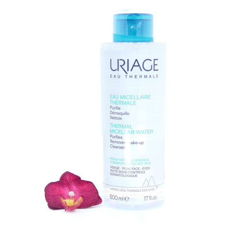 3661434003677-510x459 Uriage Thermal Micellar Water - Combination To Oily Skin 500ml