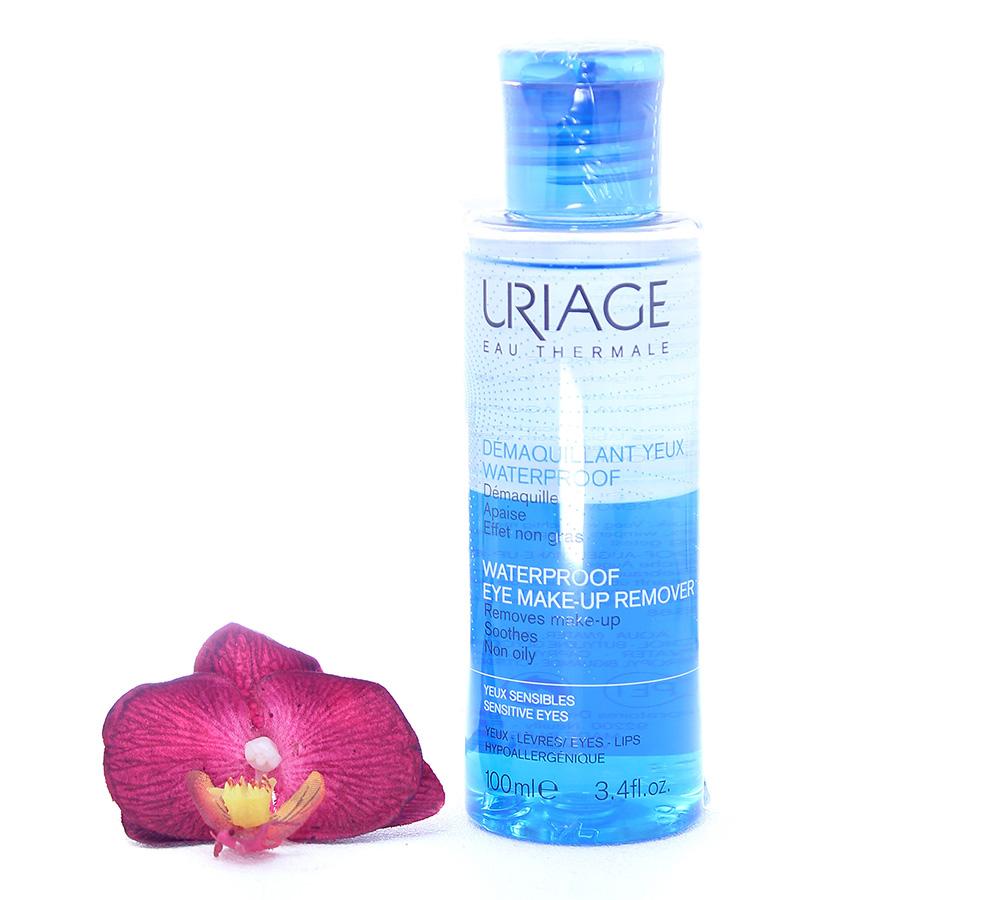 3661434003691 Urage Waterproof Eye Make-Up Remover - Sensitive Eyes 100ml