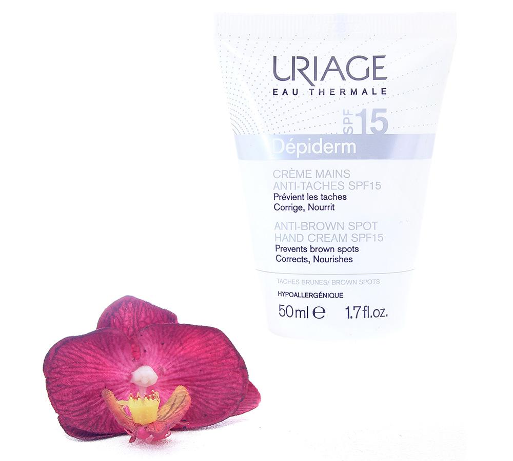 3661434004285 Uriage Depiderm Anti-Brown Spot Hand Cream Spf15 50ml