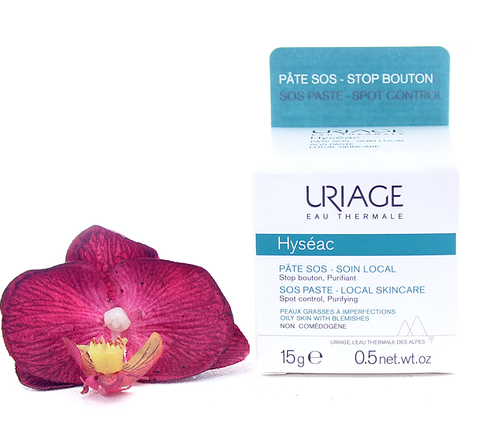 3661434004315 Uriage Hyséac - Sos Paste Local Skin-Care 15g