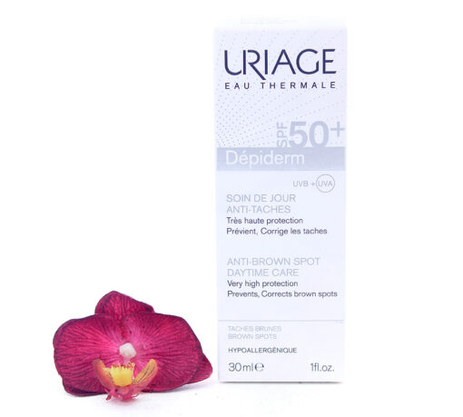 3661434004384-510x459 Uriage Dépiderm - Anti-Brown Spot Daytime Care Spf50+ 30ml