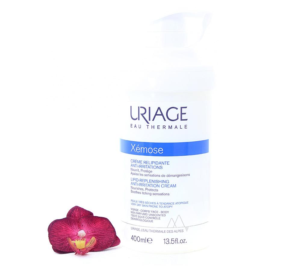 3661434004858 Uriage Xémose - Lipid-Replenishing Anti-Irritation Cream 400ml
