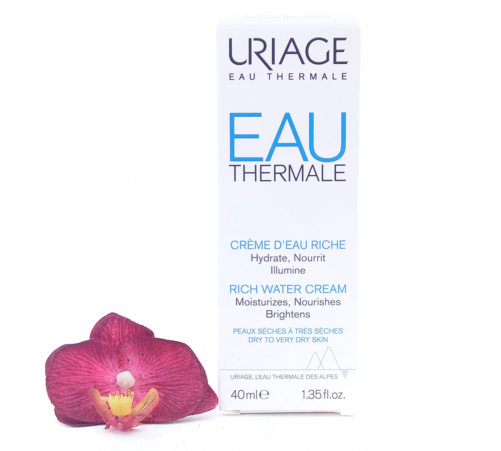 3661434004995 Uriage Eau Thermale - Rich Water Cream 40ml