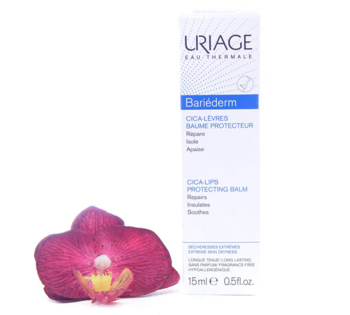3661434005459-510x459 Uriage Bariederm Cica-Lips Protecting Balm 15ml