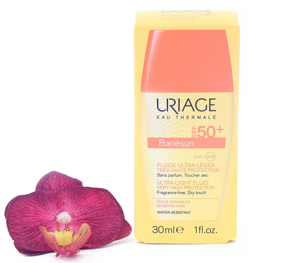 3661434005480 Uriage Bariésun Ultra-Light Fluid Spf50+ 30ml