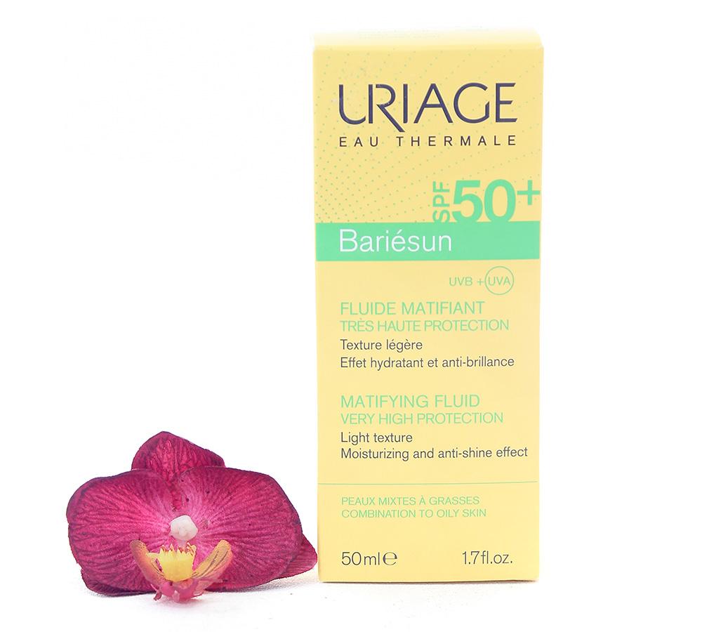 3661434005596 Uriage Bariésun Mat Fluid SPF50+ Very High Protection 50ml
