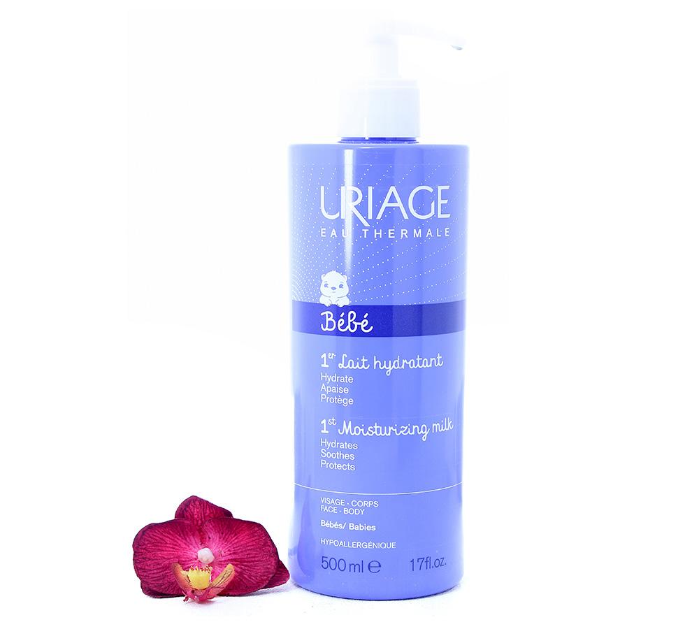 3661434005756 Uriage Bébé 1st Moisturizing Milk - Gentle Everyday Care 500ml