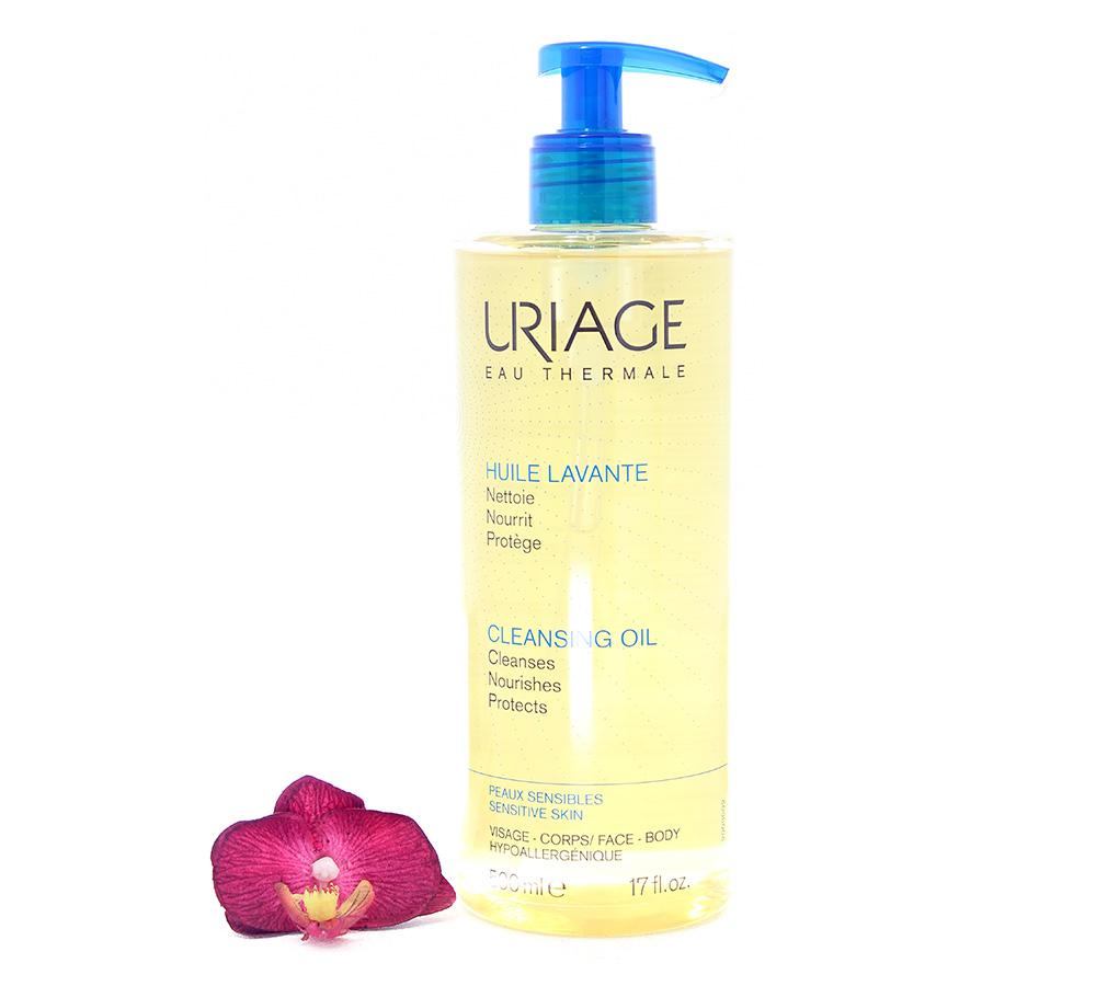 3661434005879 Uriage Cleansing Oil - Sensitive Skin 500ml